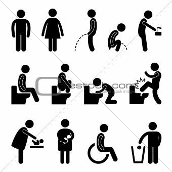 Toilet Bathroom Pregnant Handicap