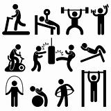 Athletic Gym Gymnasium Exercise