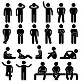 Man Basic Posture People Icon Sign