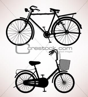 Old Bicycle Detail