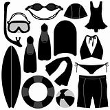 Swimming Diving Snorkeling Aquatic