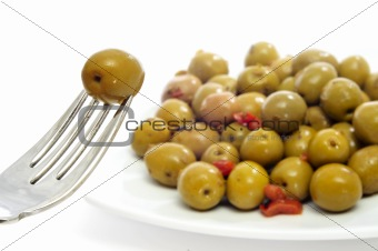 olives spanish tapa