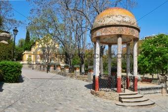 Can Boixeres Park, in Hospitalet de Llobregat, Spain