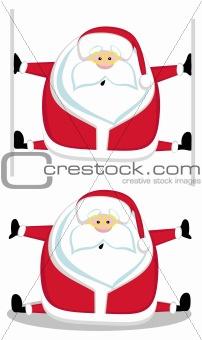 Santas splits