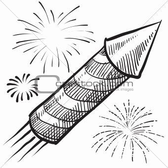 Fireworks sketch