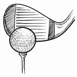 Golf equipment sketch