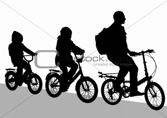 Cyclist family
