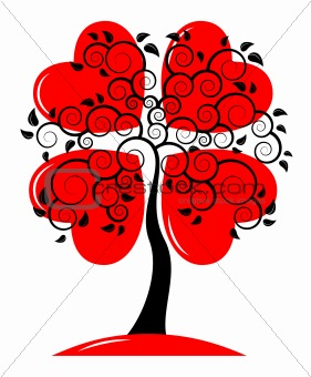 heart tree