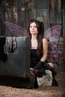 Fairy With Suitcase