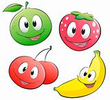 Cute Cartoon Fruit