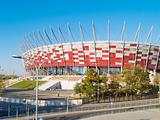 stadium of Warsaw, Poland