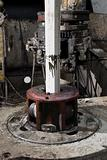 Rotary table of drilling rig