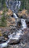 Tangle Waterfall Alberta Canada