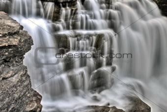 Athabasca Waterfall Alberta Canada