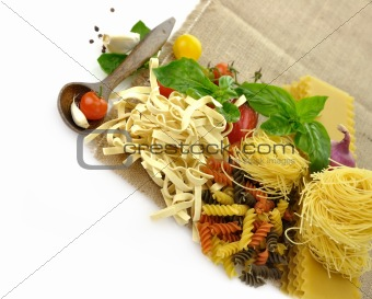 Assortment Of Italian Pasta