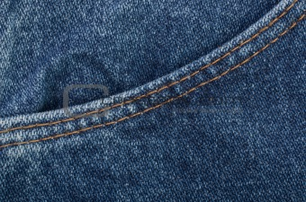Background blue jeans