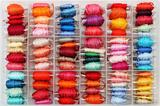 Colorful bobbins