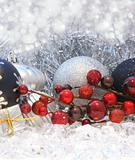Christmas berries and baubles