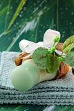 Cosmetic cream in gift packing - organic cosmetics