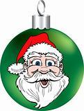 Santa Face Ornament