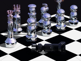 End of a chess game