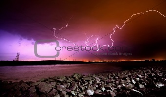 Lightning Crashes