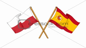 Polish - Spanish alliance and friendship
