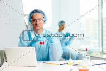 Serious chemist