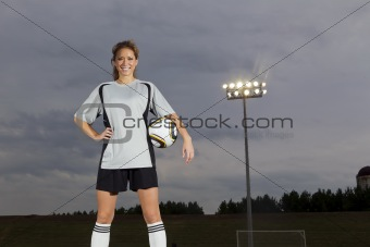 Female Soccer Player