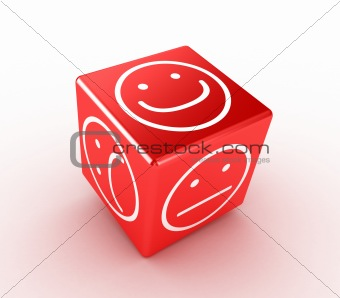 Cube with faces