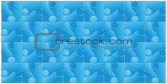 abstract seamless puzzle background