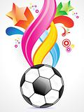 abstract football background design