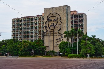 Revolution Square and the Jose Marti Monument in Havana