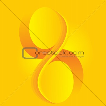 abstract yellow artistic  background