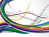abstrac colorfult web backgorund