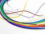 abstract colorful web background