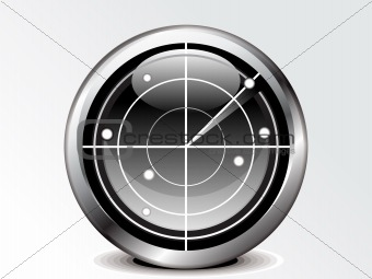 abstract radar icon