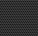 Metal grid seamless pattern.