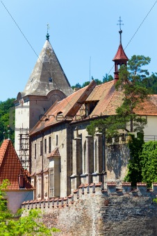 Krivoklat Castle in Czech Republic