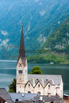 Hallstatt view (Austria)