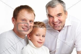 Three males