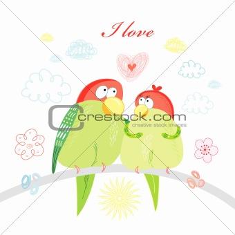 fun loving parrots