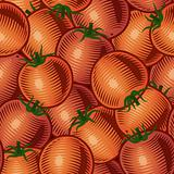 Seamless tomato background