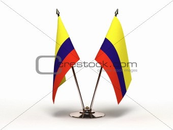 Miniature Flag of Colombia