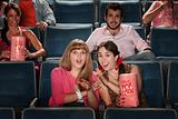Friends at a Theater