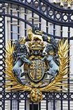Royal Coat of Arms at Buckingham Palace