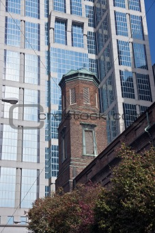 Old and new - architecture of Nashville