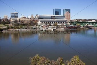 Knoxville panorama