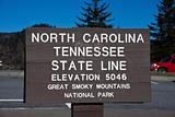Tennessee - North Carolina state line