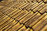 Golden roof tiles